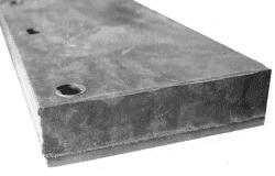 LEMIESZ GUMOWY 600/160/25 MM
